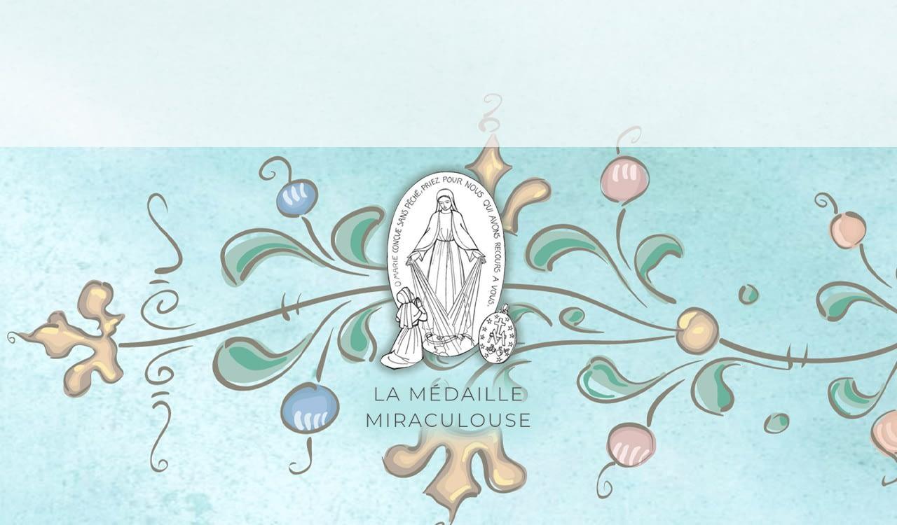Coleção Medalha Milagrosa - Elles pour Elise